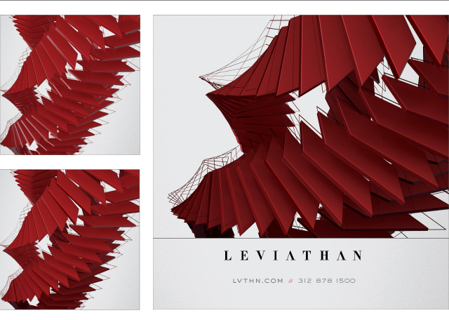 Leviathan, Distributive Design, Derek Weglarz, EXPO Chicago, Branding